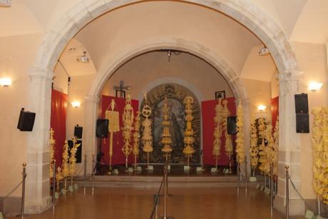 Exposición concurso de Palma Blanca para el Domingo de Ramos.