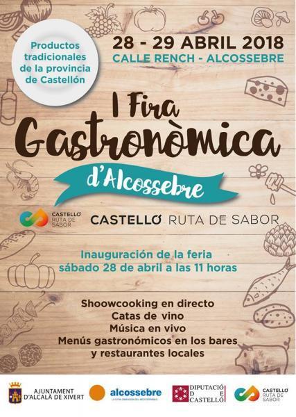 I Feria Gastronómica de Alcossebre
