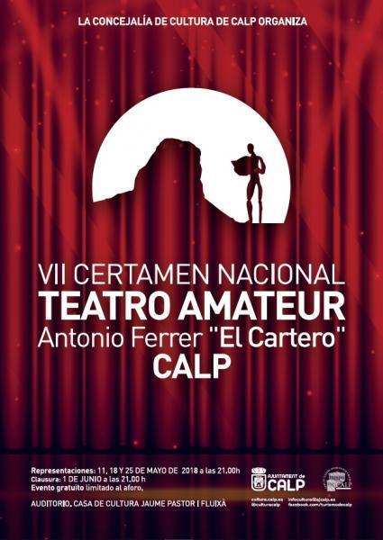 "VII Certamen Nacional Teatro Amateur Antonio Ferrer ""El Cartero"""
