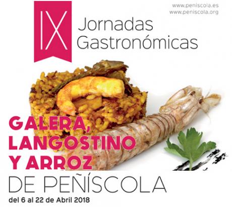IX JORNADAS GASTRONÓMICAS GALERA, LANGOSTINO Y ARROZ DE PEÑISCOLA