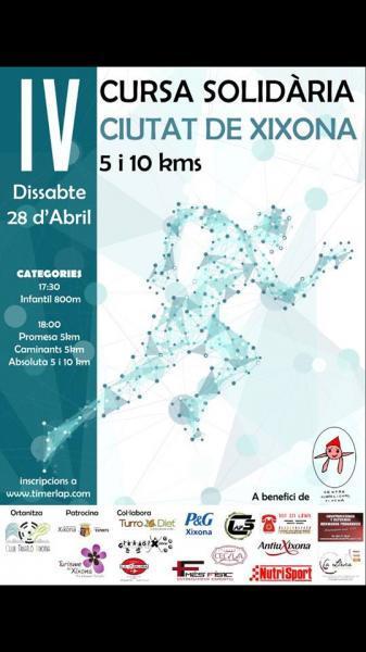 IV CURSA SOLIDÀRIA CIUTAT DE XIXONA 5 i 10 kms