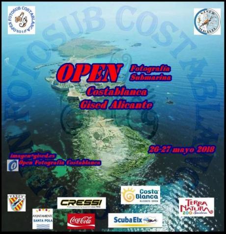 Open Fotografía Submarina Costa Blanca