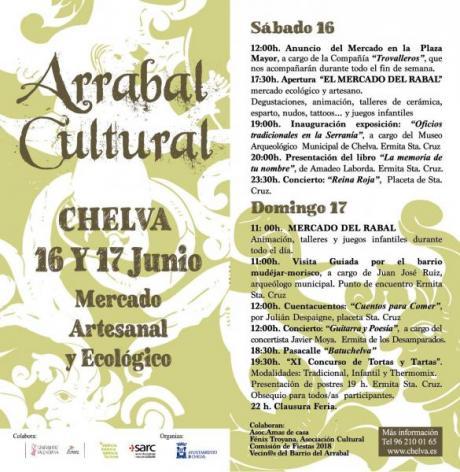 ARRABAL CULTURAL - CHELVA 2018