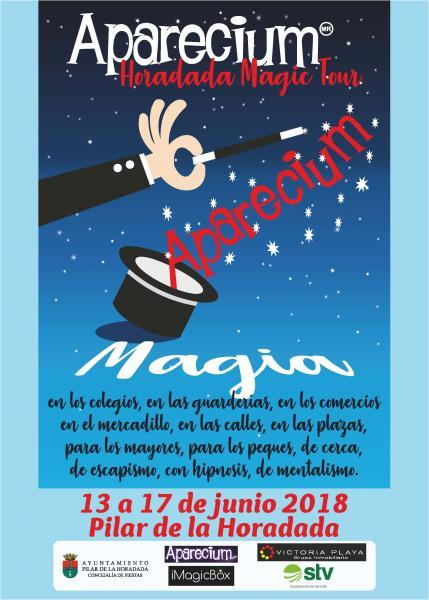 APARECIUM Horadada Magic Tour en Pilar de la Horadada 2018
