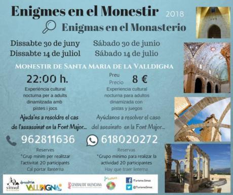 Enigmas en el Monasterio. Simat de la Valldigna