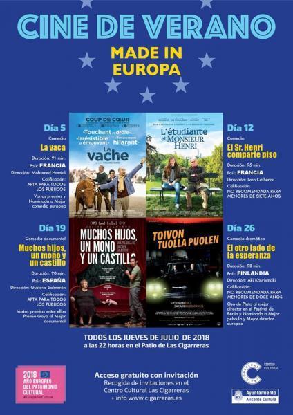 Un verano de cine en Las Cigarreras 2018