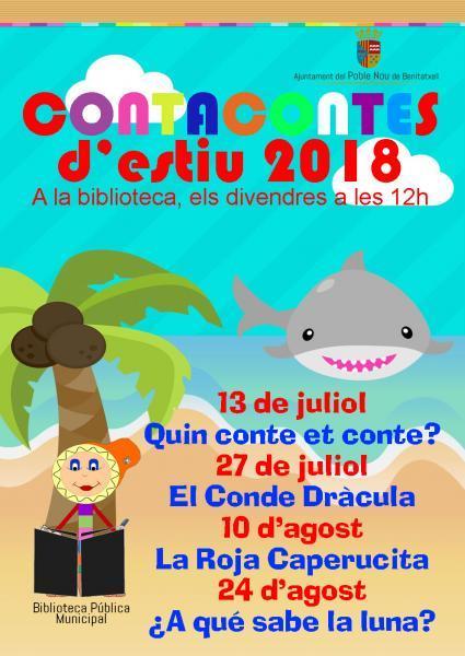 Cuentacuentos de verano 2018