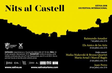 Nits al Castell, the summer festival