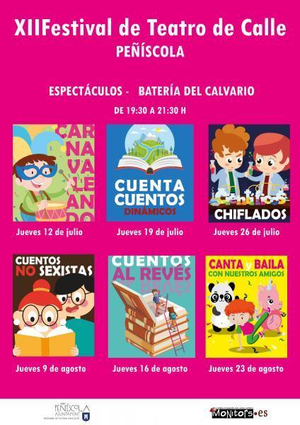 XII Festival de Teatro de Calle - Peñíscola - Infantil