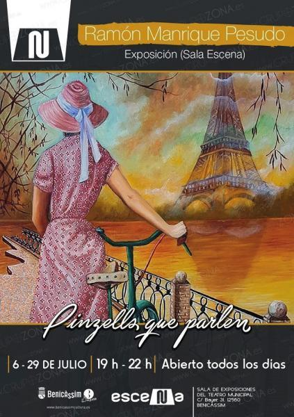"""Exposición: """"Pinzells que parlen"""""""