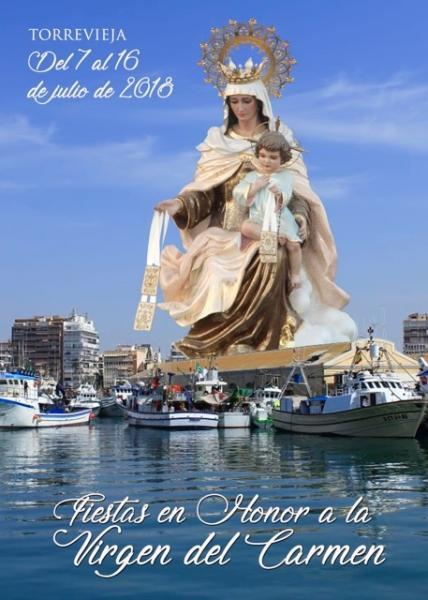 Fiestas en Honor a la Virgen del Carmen. Torrevieja