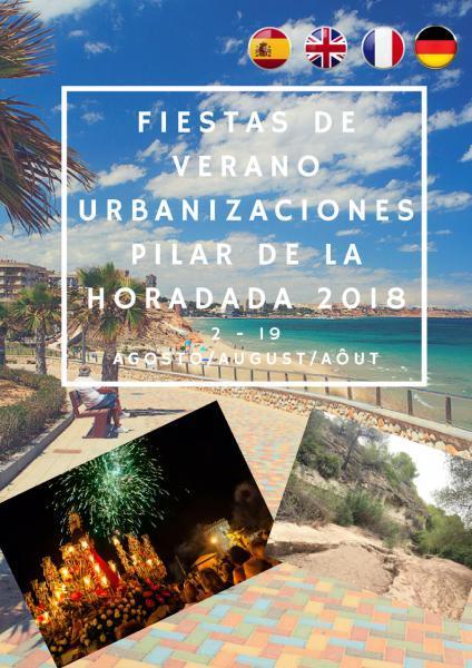 Fiestas Urbanizaciones de Pilar de la Horadada 2018