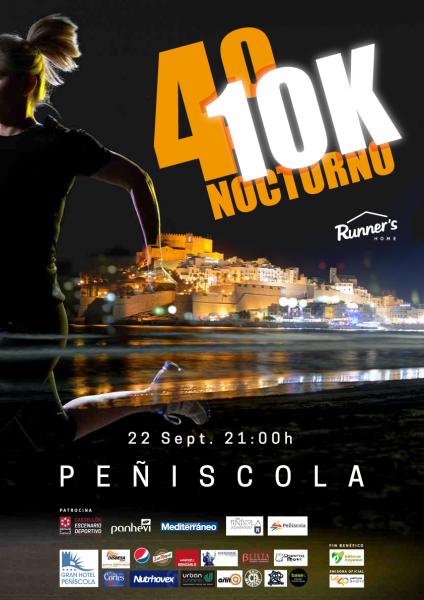 10K Nocturno Peñíscola 2018