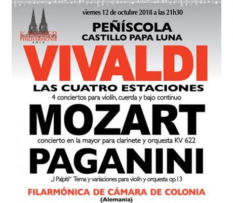 Concierto de la Filarmónica de Camara de Colonia - Peñíscola 2018