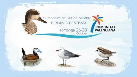Ornithological tourism is the star in the Birding Festival Region of Valencia in Torrevieja