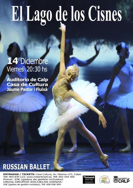 """Russian Ballet: """"El Lago de los Cisnes"""""""