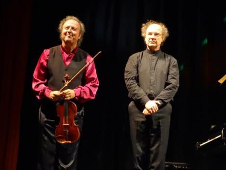 PALOMARES - RUGLI . Violín y Piano