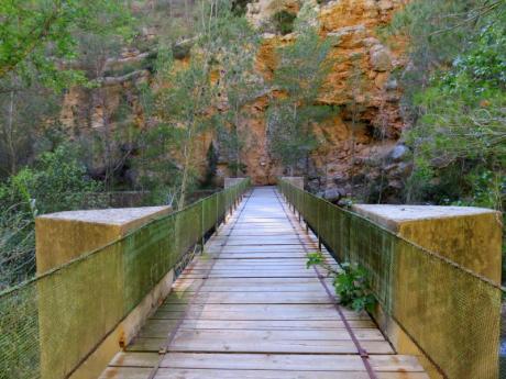 Ruta de senderismo: Senda Los Estrechos y Cueva Negra, Montanejos (Castellón)