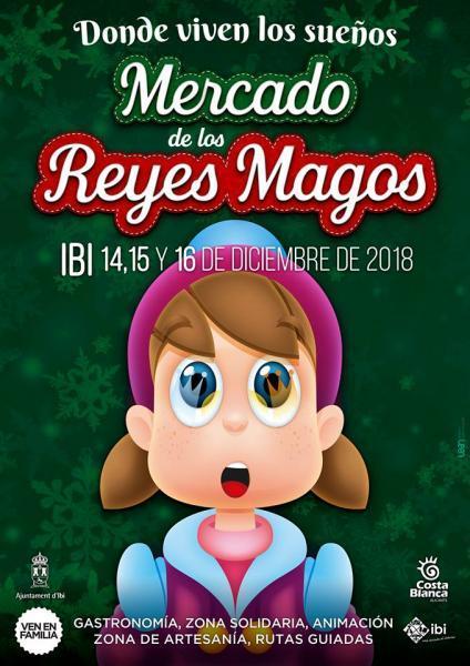 """Mercado de los Reyes Magos """"Donde viven los sueños"""""""