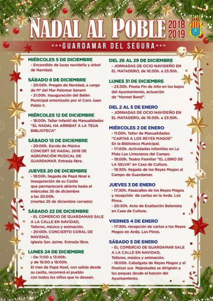 Nadal al Poble Guardamar 2018
