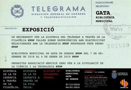Exposición La Historia de la telegrafía en sellos