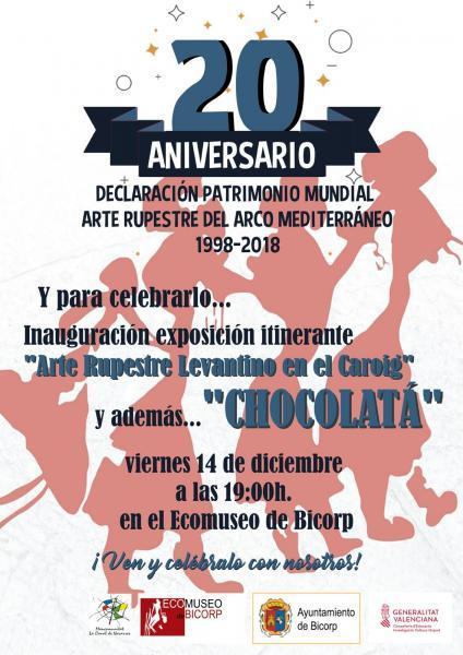XX Aniversario Patrimonio de la Humanidad en Bicorp