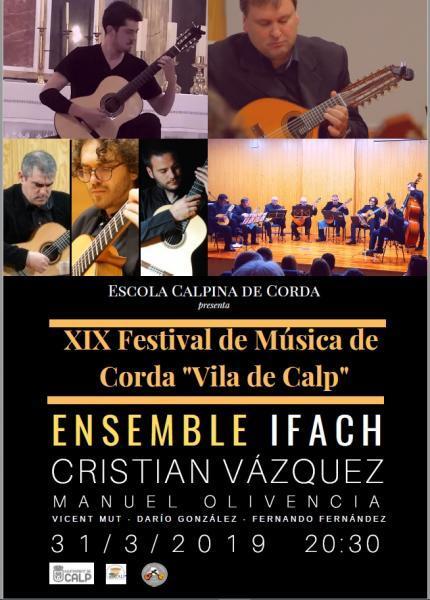 """XIX Festival de Música de Corda Vila de Calp"""