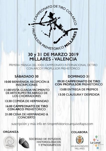 I Campeonato de Tiro Prehistórico de Millares