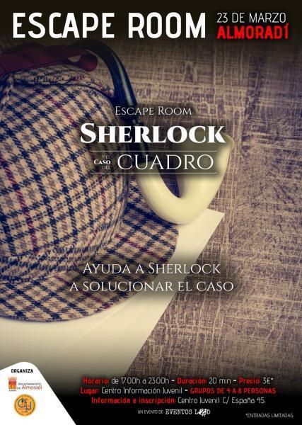 Escape Room - Sherlock y el Caso del Cuadro