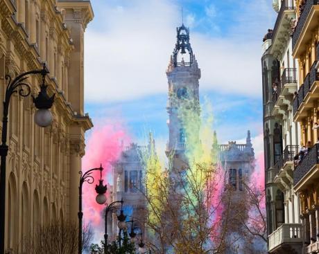 Art et fête aux Fallas dans la Région de Valencia