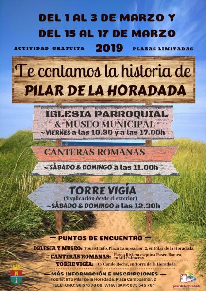 Fin de semana turístico; te contamos la historia de Pilar de la Horadada 2019