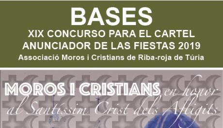 XIX Concurso del cartel anunciador de la Fiesta de Moros y  Cristianos