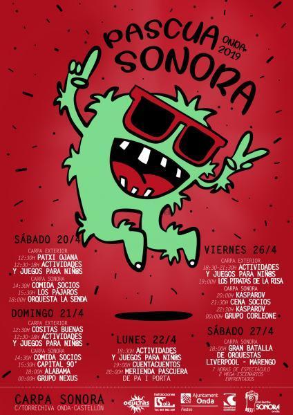 PASCUA SONORA 2019