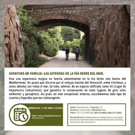 Visita guiada: Las leyendas de la Vía Verde
