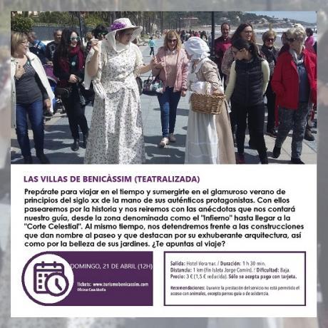 Visita guiada teatralizada: Las Villas de Benicàssim