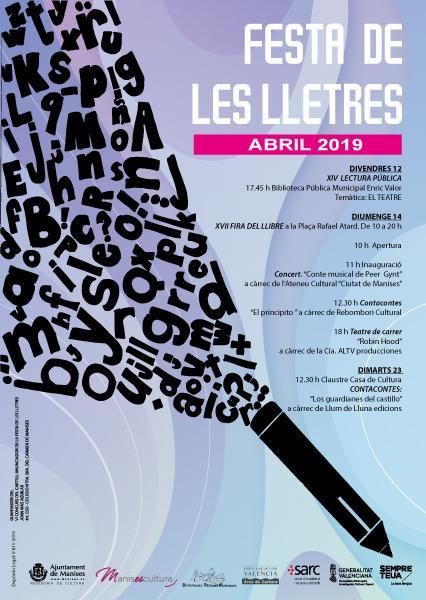 "IV "" Festa de les Lletres"" Manises 2019"