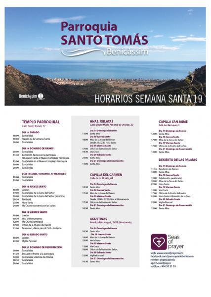 Actos religiosos Semana Santa 2019 - Benicàssim