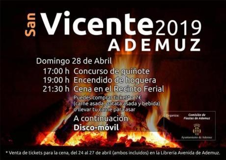 Hogueras de San Vicente Ademuz 2019