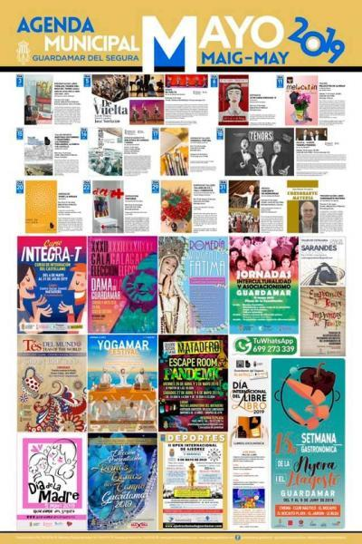 Agenda Cultural Guardamar Mayo 2019