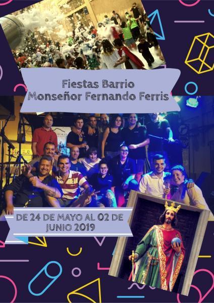 FIESTAS BARRIO MONSEÑOR FERNANDO FERRIS ONDA 2019