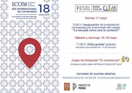 Actividades para el Día Internacional de los Museos en el Museo de Pusol