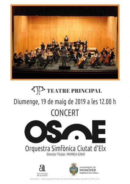Concierto de la Orquesta Sinfónica de Elche
