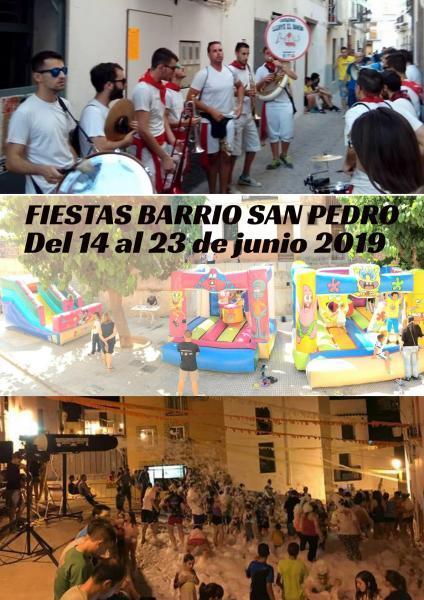 FIESTAS BARRIO SAN PEDRO ONDA 2019