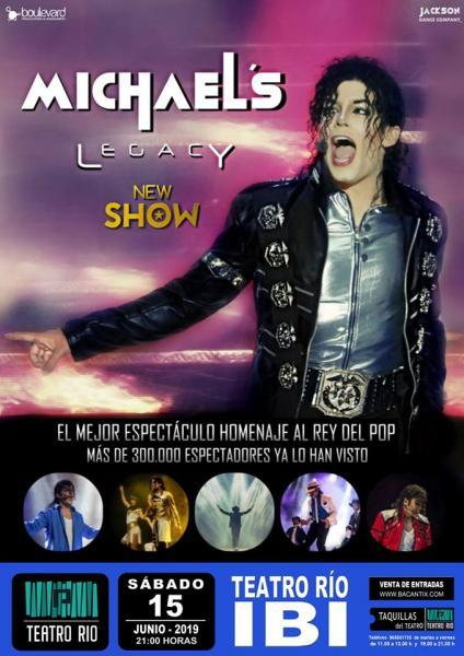 Concierto homenaje a Michael's Legacy New Show