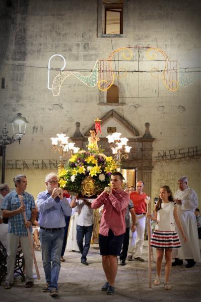 Fiestas de San juan de  mosquera y Cristo de la Salud en Alcalalí