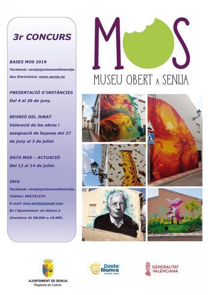 3º Edición Mos  (Museo Abierto Senija) en Senija