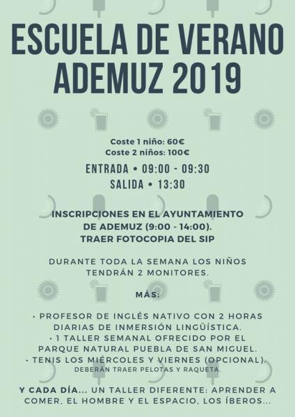 Escuela de Verano de Ademuz