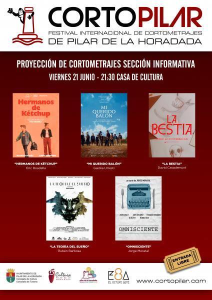 """III Proyección de Cortometrajes de la """"Sección Informativa de Cortopilar en Pilar de la Horadada 2019"""