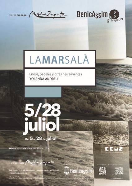 Exposición Lamarsalá. Libros, papeles y otras herramientas. Yolanda Andreu