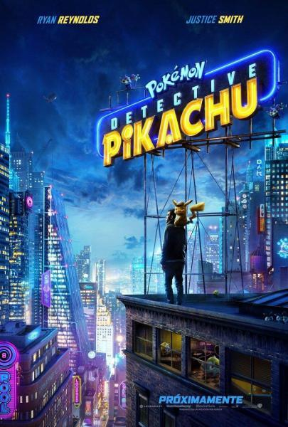 Cine: Pokemon Detective Pikachu